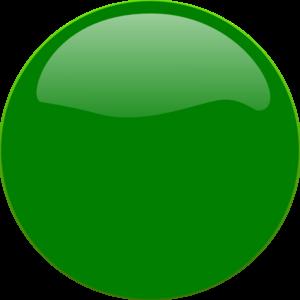 Green Glossy Circle Clip Art at Clker.com.