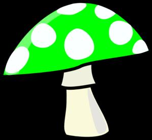 Hongo Verde Clip Art at Clker.com.