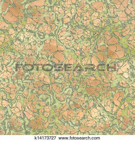 Stock Illustration of Verdigris. Seamless texture. k14173727.
