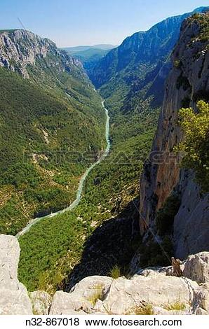 Pictures of Gorges du Verdon, Verdon River canyon, Verdon Regional.