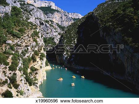 Stock Images of Les Gorges du Verdon, Provence, France x19960596.