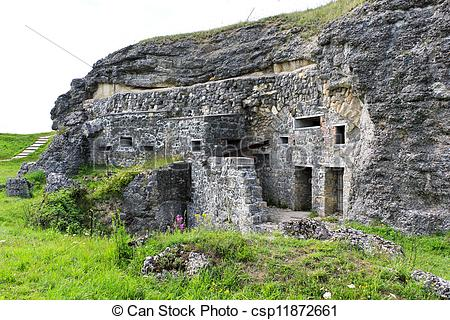 Stock Image of Fort Douaumont, Verdun, France.