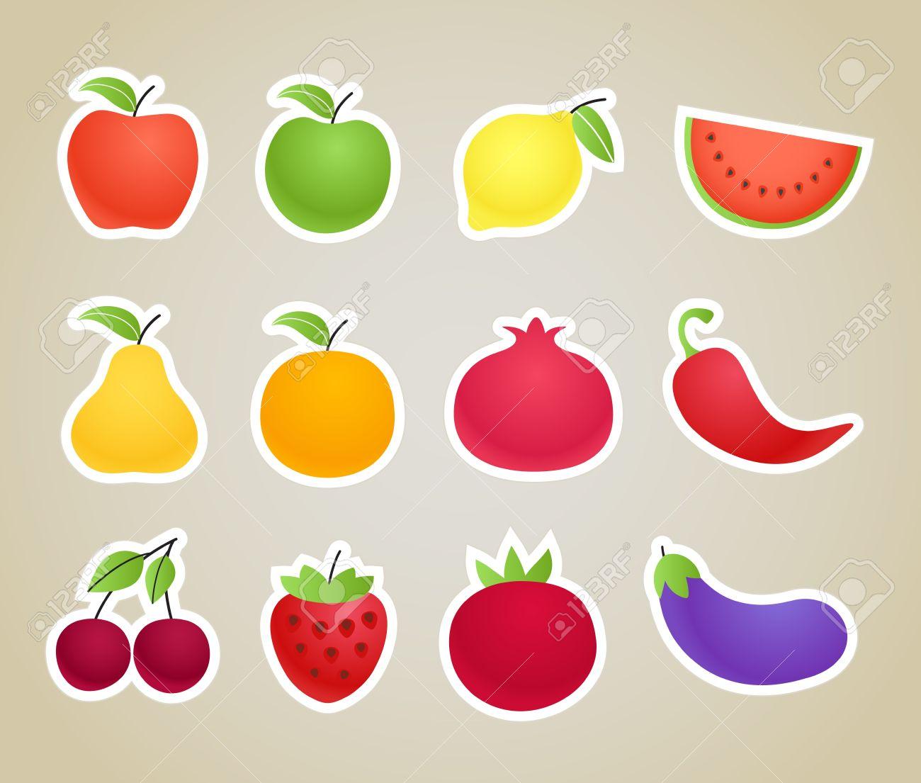 Clipart frutta.