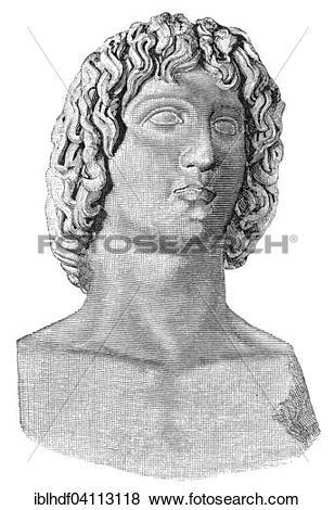Pictures of Publius Vergilius Maro or Virgil, a Latin poet and.