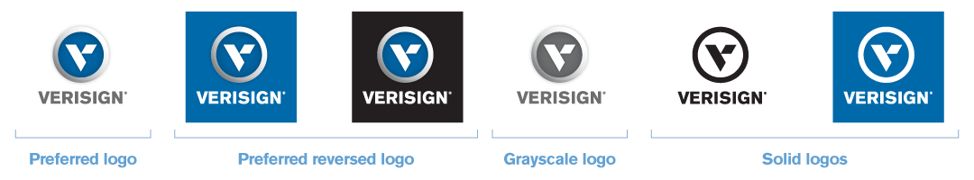 Verisign Corporate Brand Guidelines.