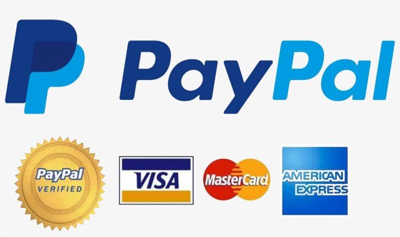 PayPal Verified Visa MasterCard Logo.