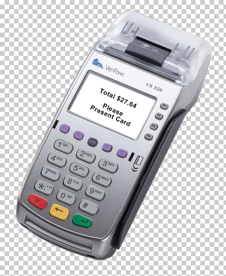VeriFone Holdings, Inc. PIN pad EMV Contactless payment.