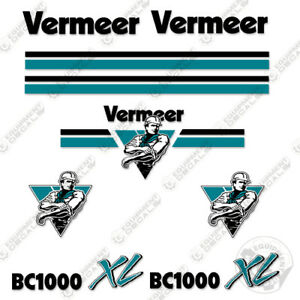 Details about Vermeer BC1000 XL Chipper Decal Kit.