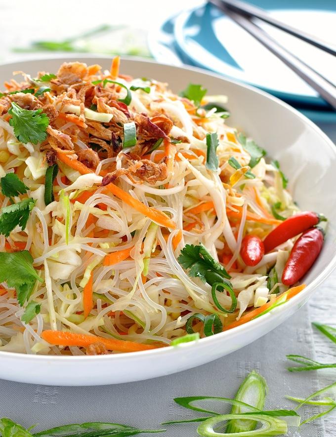 Asian Vermicelli Noodle Salad.