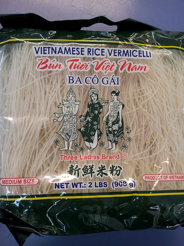 Amazon.com : Vietnamese Rice Stick(vermicelli) Three Ladies Brand.