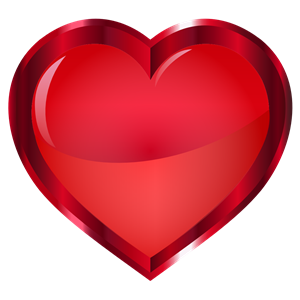 Vermillion Heart clipart, cliparts of Vermillion Heart free.