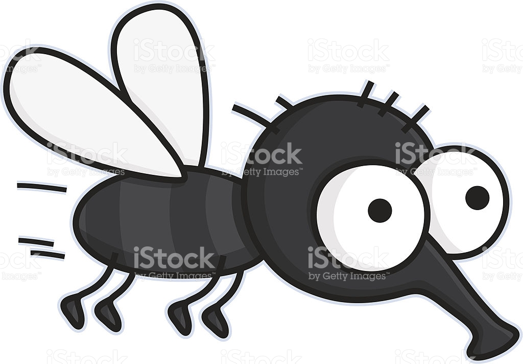 Cartoon Flying Housefly Vermin Insect stock vector art 165955813.