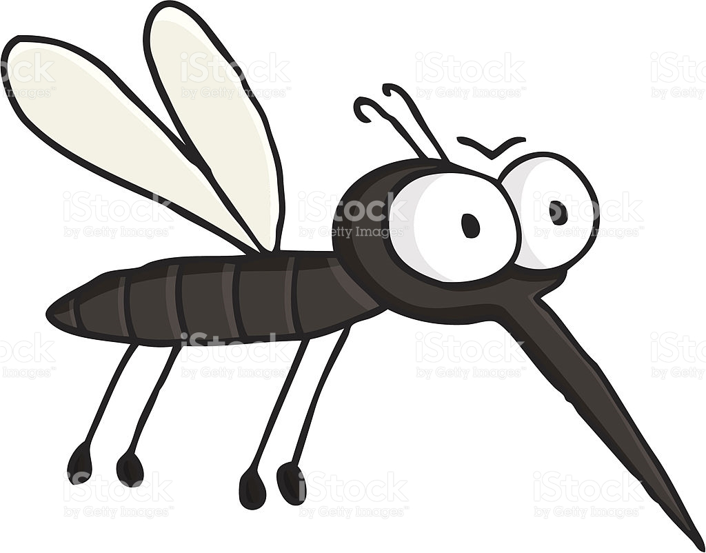 Cartoon Flying Mosquito Vermin Insect stock vector art 165733569.