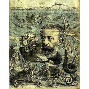 Public Domain Clip Art Twenty thousand leagues under the sea.