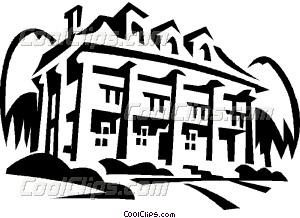 Mount Vernon Vector Clip art.