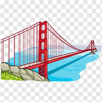 Golden Gate cutout PNG & clipart images.