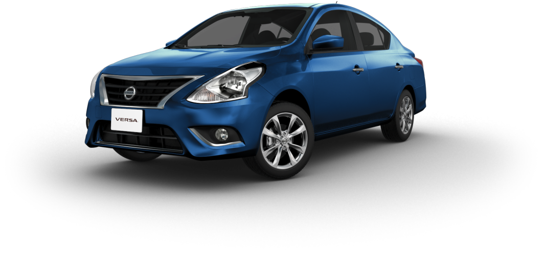 HD Nissan Versa 2018 Azul Transparent PNG Image Download.