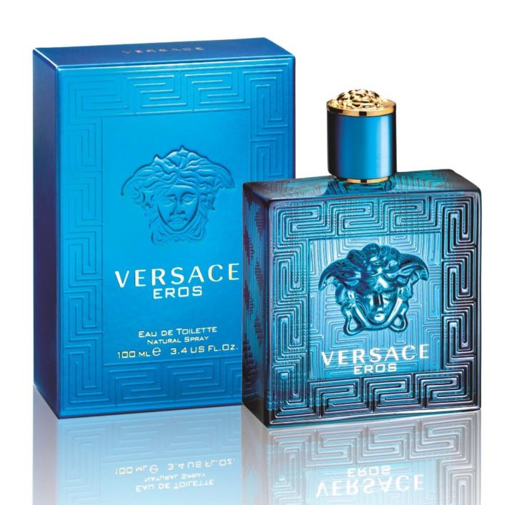 Versace Eros 3.4 Oz EDT.