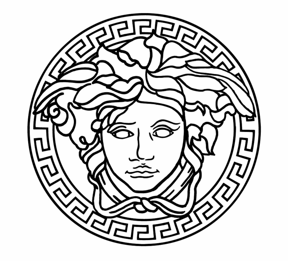 Gucci Coloring Pages Versace Logo Hd Png.