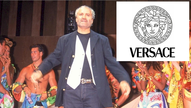 The History of Versace and Their Logo Design.