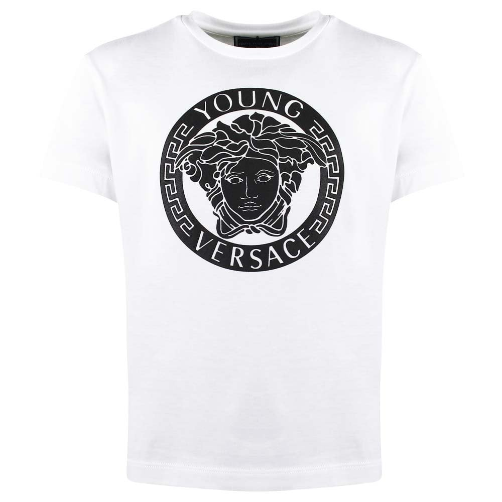Versace Young Versace T Shirt White.