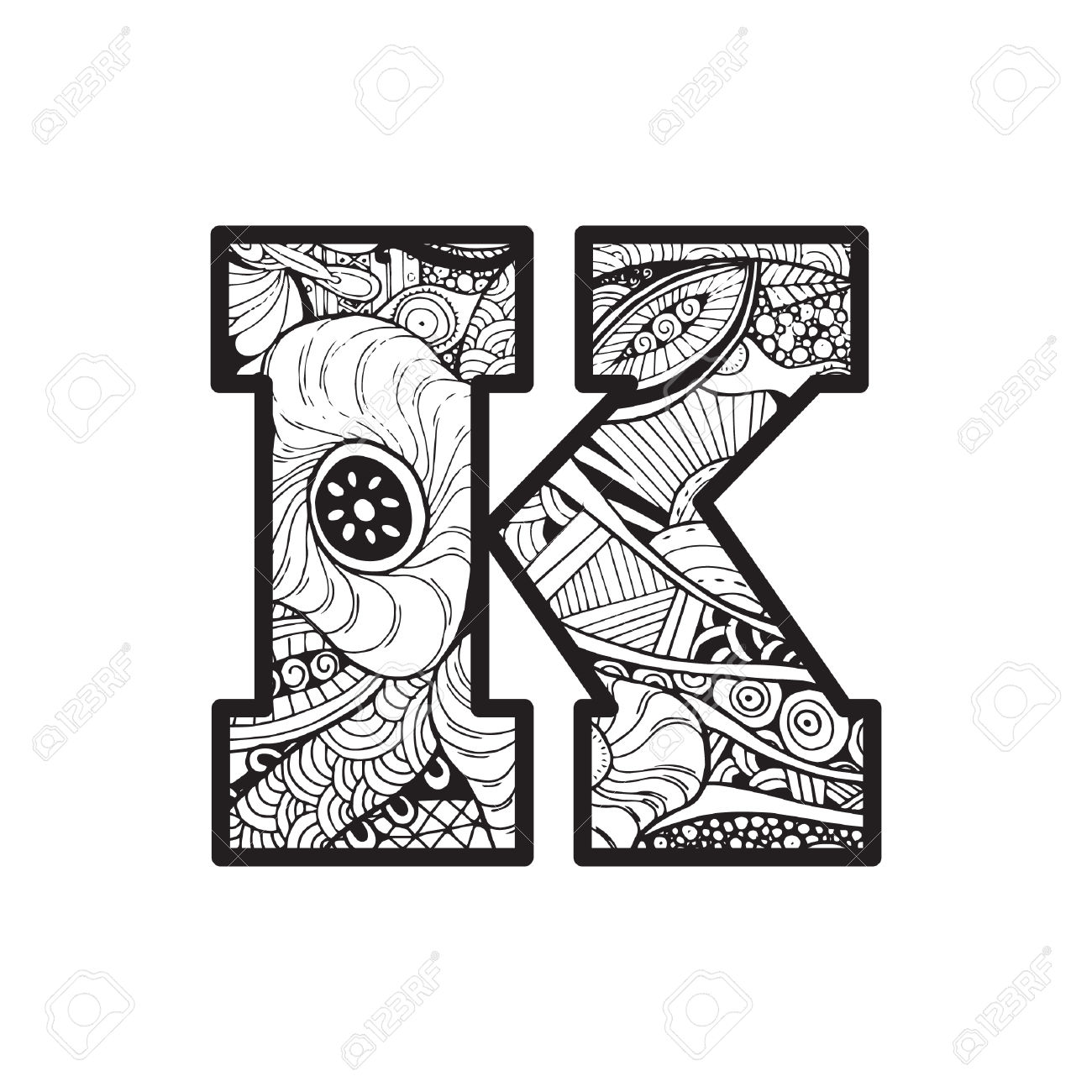 Letter K Royalty Free Cliparts, Vectors, And Stock Illustration.