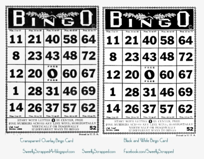 Free Bingo Free Clip Art with No Background , Page 4.