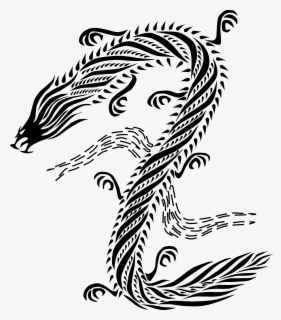 Free Chinese Dragon Clip Art with No Background.