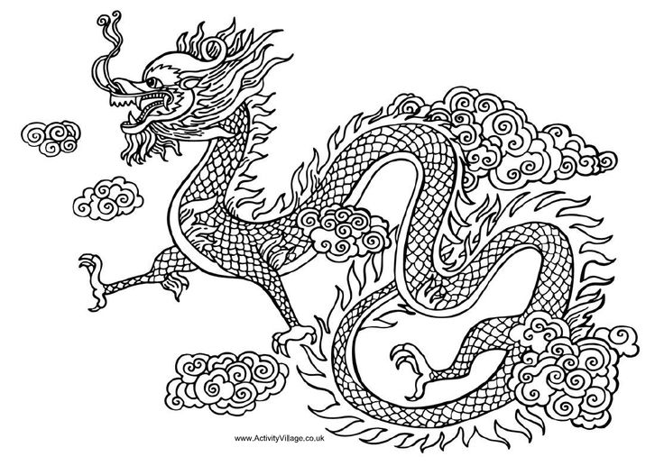 Chinese+Dragon+Drawings.