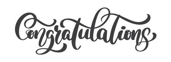 Congratulations Banner Free Vector Art.