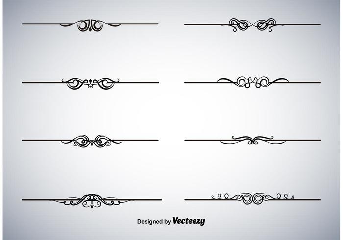Divider Free Vector Art.
