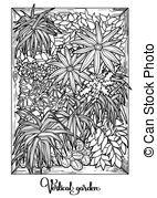 Vertical garden Clip Art Vector Graphics. 1,634 Vertical garden.