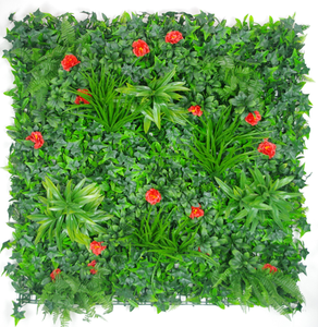 Red Elegance Vertical Garden UV Stabilised 1m X 1m.
