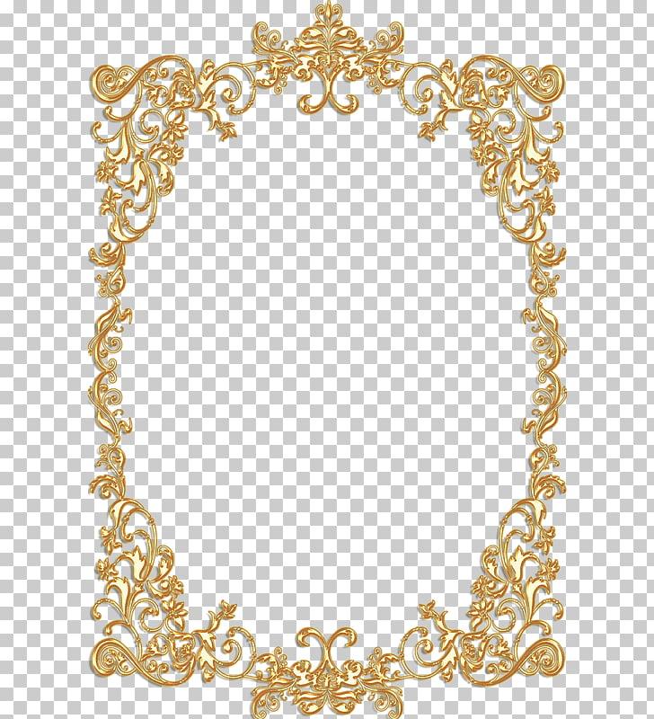 Borders and Frames Frames Gold Vintage , gold border, brown.