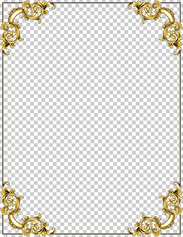 Frame , Gold Border Frame Transparent , gold floral boarder.