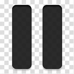 Devine Icons, two black vertical lines art transparent.