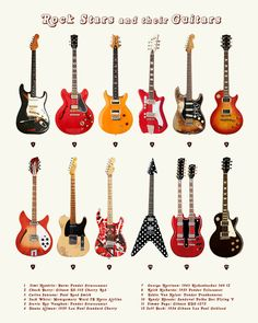 vertical smashed guitar appearance clipart #3