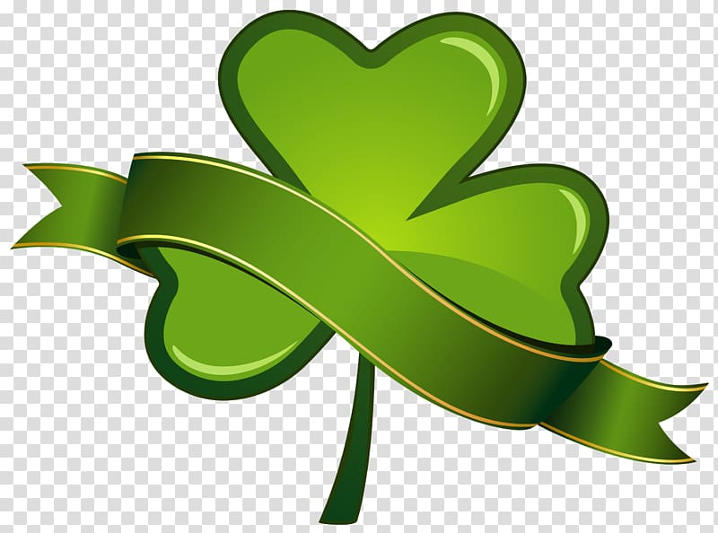 Clover illustration, Saint Patrick\\\'s Day Shamrock , St.