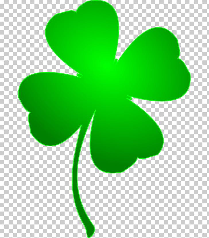 Ireland Saint Patricks Day Shamrock Four.