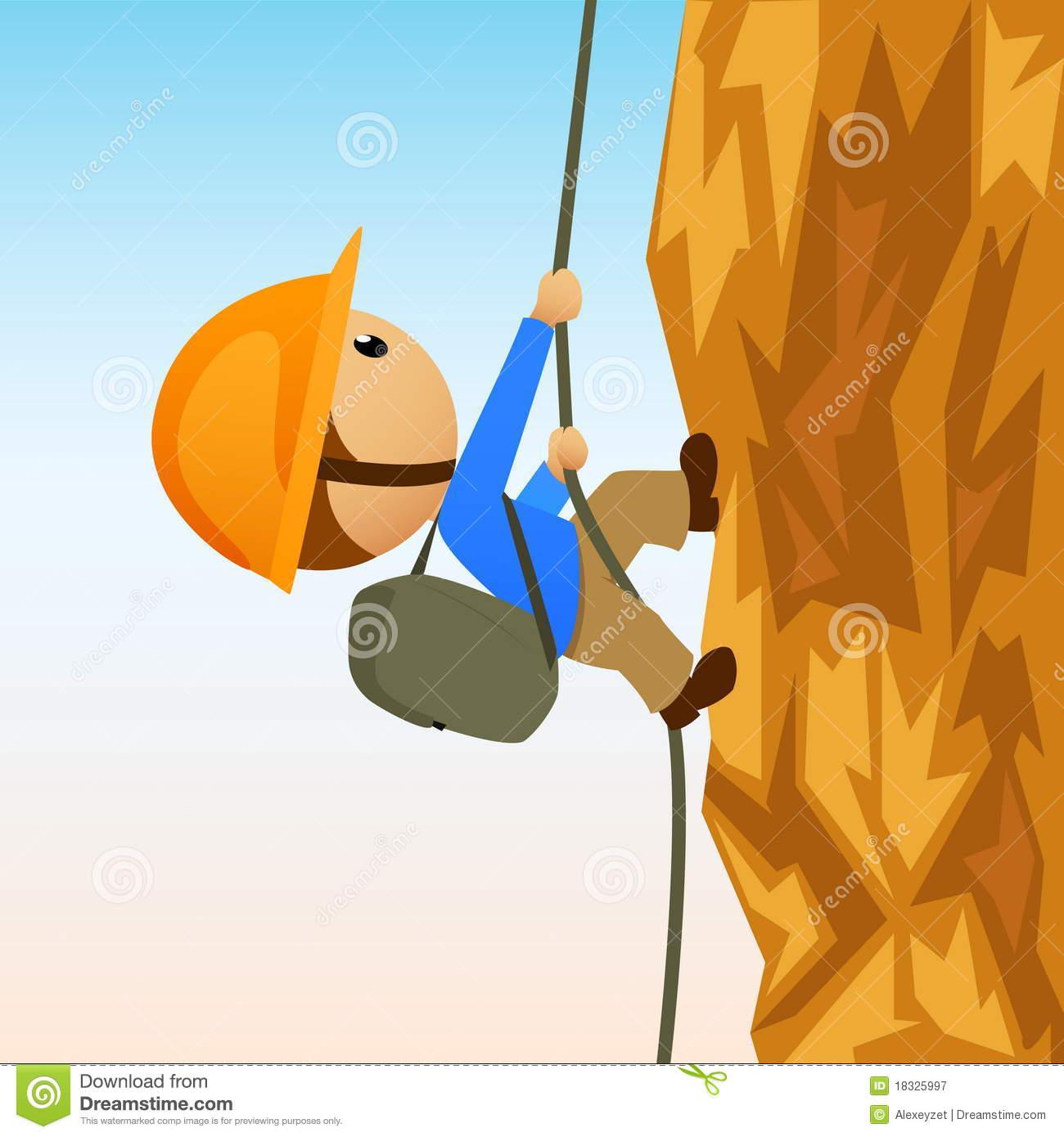 Vertical wall climbing clipart - Clipground