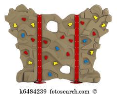 Wall climbing Stock Illustration Images. 829 wall climbing.