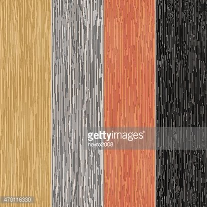 Wood texture on planks. Vertical seamless patterns Clipart.