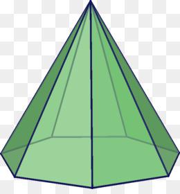 Pentagonal Pyramid PNG.