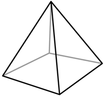 Faces, Edges, and Vertices of Solids.