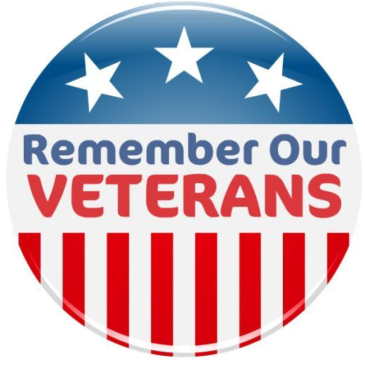 Free Patriotic Memorial Day and Veterans Day Clip Art.