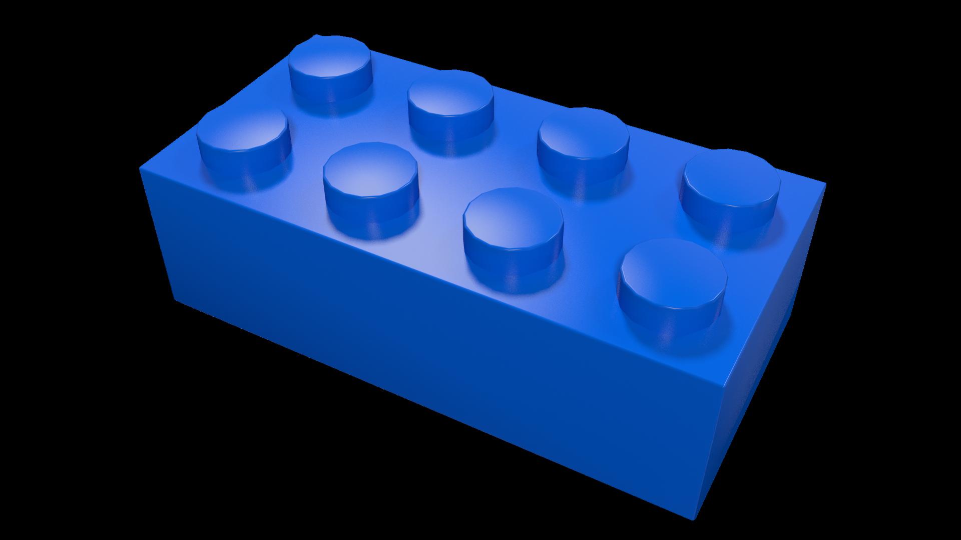 Blue lego clipart.
