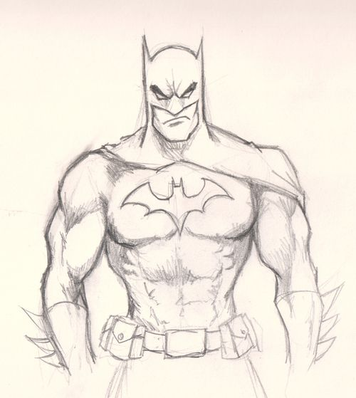 Very cool drawing of Batman!!!!!.