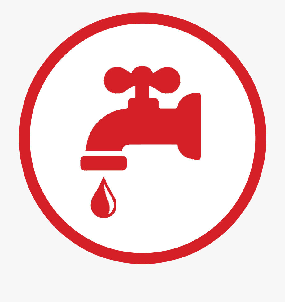 Hot Water Tap Sign , Transparent Cartoon, Free Cliparts.