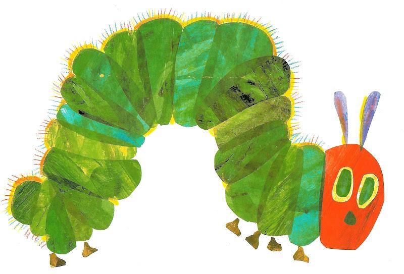 Very hungry caterpillar clip art 3.