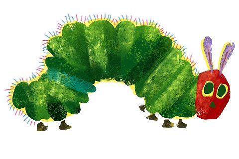 Very Hungry Caterpillar Clip Art.